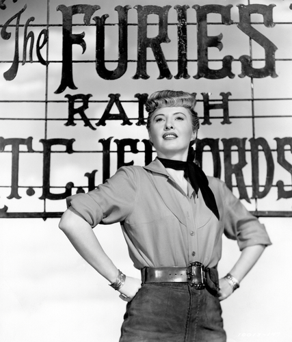 The Furies (1950) Directed by Anthony Mann Shown: Barbara Stanwyck