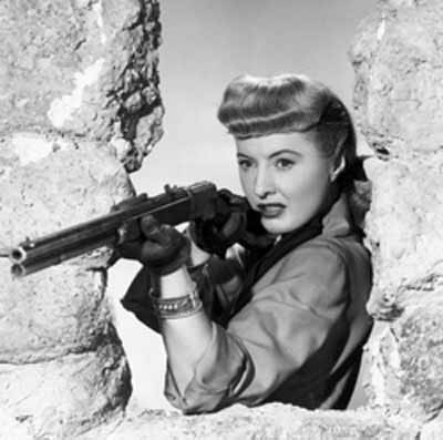Barbara Stanwyck as Vance Jeffords in THE FURIES (1950), directed by Anthony Mann.