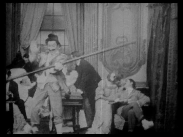"Mack Sennett, ""The Curtain Pole"" (1909)"
