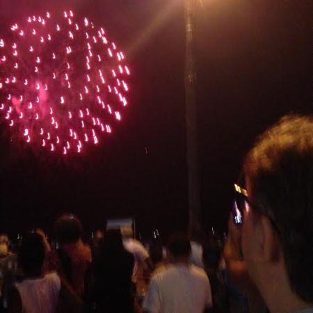 trav at fireworks