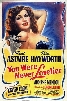 225px-Poster_-_You_Were_Never_Lovelier_01