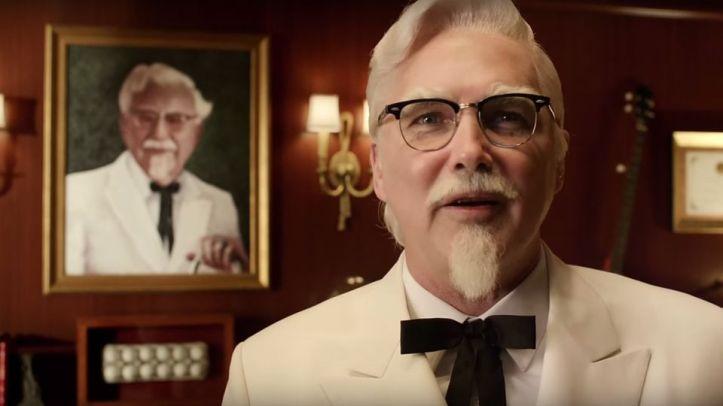 Sanders and MacDonald-as-Sanders