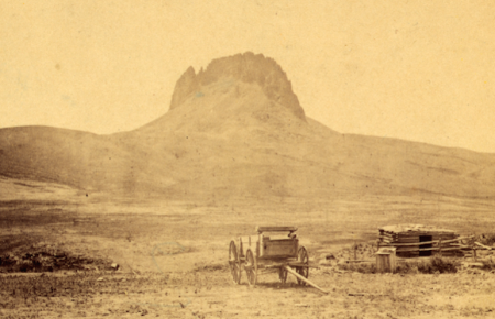 Birdtail Rock, SW of Fort Shaw, 1868