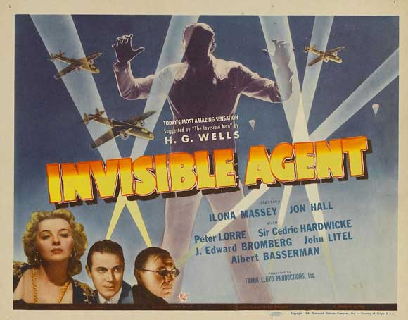 Image result for movie the invisible agent