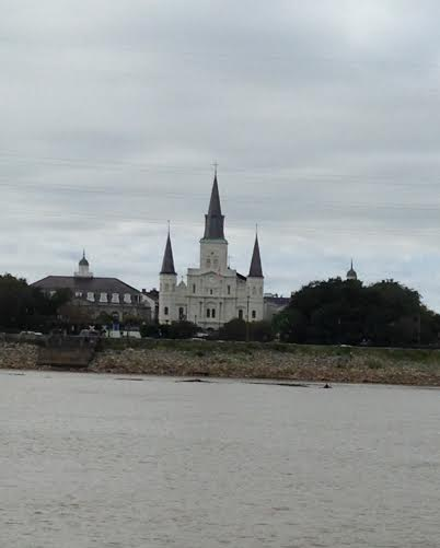 cathedral from the water