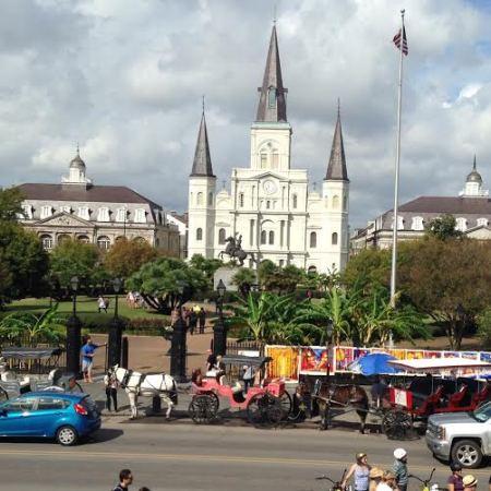 Jackson Sq and Cathedral (Carolyn)