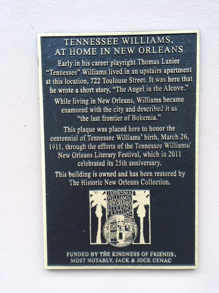 Tennessee williams home 2