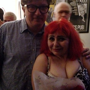 "with Penny Arcade, after her performance of ""Longing Lasts Longer"" at Joe's Pub"
