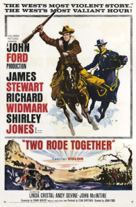 Two_Rode_Together_-_1961_-_Poster