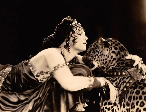 "From ""Ben Hur"" -- well, Ben and Jesus won't play with me...I guess I'll just have to make love to this leopard!'"
