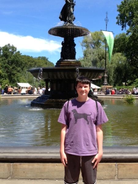 Bethesda Fountain, Central Park, 2013