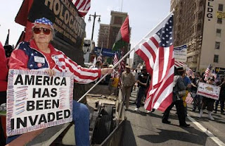 Anti-immigrant-rally