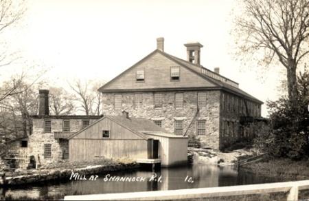 Clark's Mill in Shannock