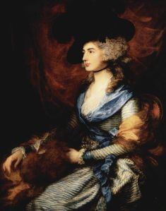 Portrait by Gainsborough