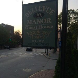Bellevue manor sign