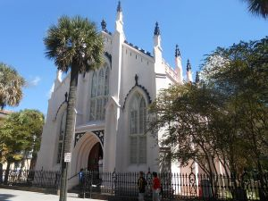 The only Huguenot Church left in America. Located in Charleston, South Carolina, it was built in 1844 for a congregation that had been founded two centuries earlier.