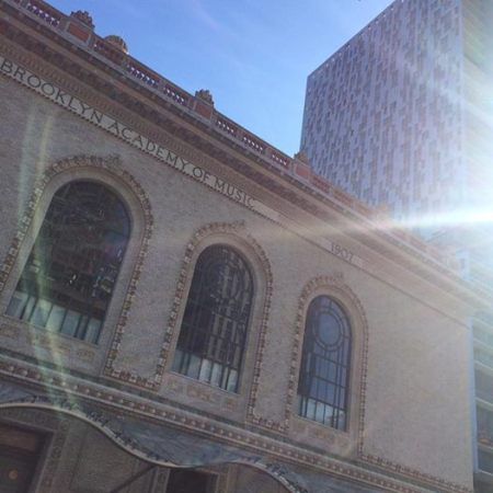 I took this just yesterday. Brooklyn Academy of Music now being crowded out by a highrise