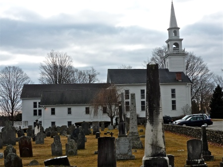 Grandmother's church. The Congregation was founded with the town, in 1686.