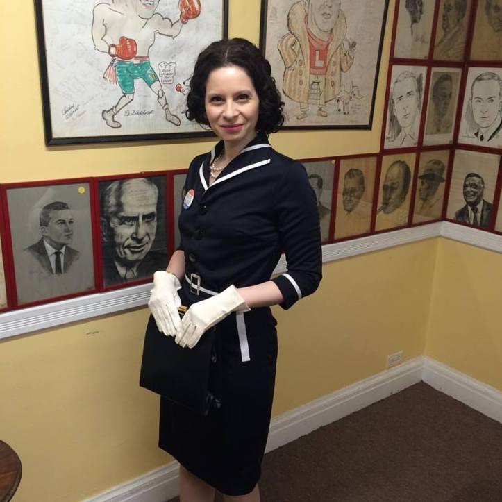 Lauren Milberger as Gracie Allen -- also for President