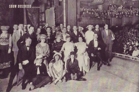 Cast of 1918 Follies