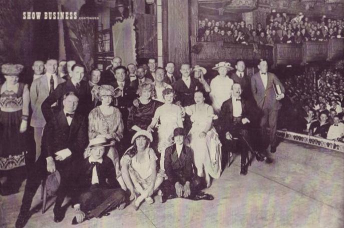 Cast of 1918 Follies