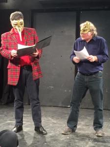 Trav S.D. and Pinnock, as (I guess) Galileo's idea of martians