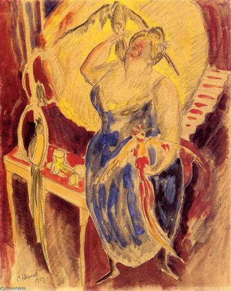 charles-demuth-vaudeville-bird-woman