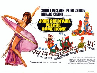 "The 1965 film ""John Goldfarb, Please Come Home"". If its Arab stereotypes seem risible, what do we make of the odd fact that Blatty himself was Lebanese?"