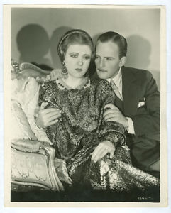 "Kerr with Ruth Chatterton in his last film ""Once a Lady"" (1931)"