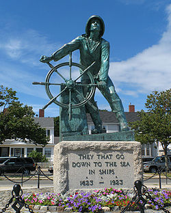 Fisherman's Memorial, Gloucester