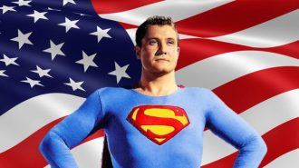 Image result for george reeves superman