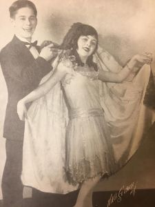 Don Tomkins and Ruth Love, Juvenile Dancers in Vaudeville