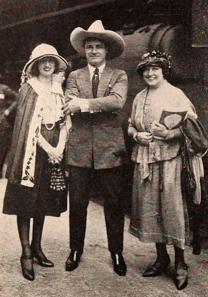 Victoria Ford, Tom Mix, Eugenie Ford